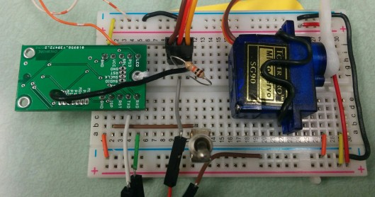 SPLear on a breadboard
